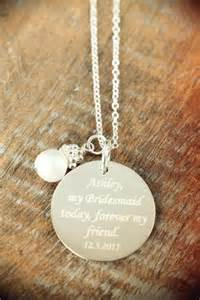 custom engraved necklaces 3 custom engraved personalized bridesmaid jewelry pendants necklaces wedding jewelry 925