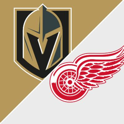 golden knights vs. red wings game recap march 8, 2018