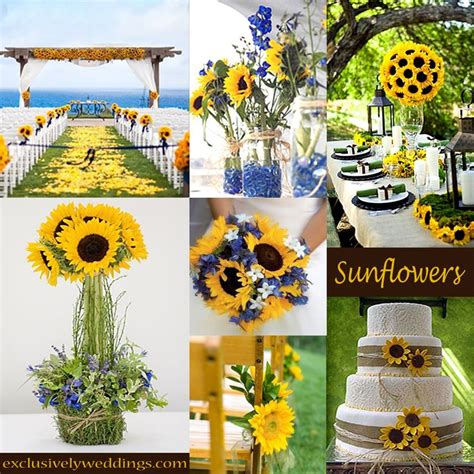 Sunflowers Decorations Home by Best 25 Sunflower Wedding Themes Ideas On Pinterest