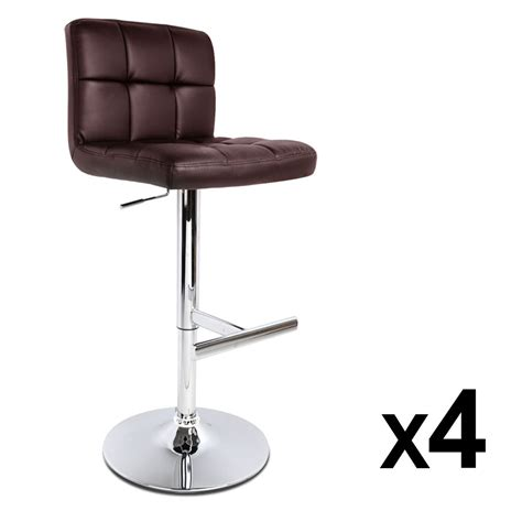 kitchen bar stools brown 4x leather bar stool noel kitchen dining chairs swivel