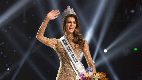 Imagenes Mis Universo 2016 | iris mittenaere miss francia 2016 gana la corona de miss