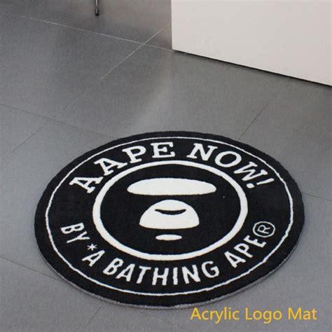 Floor Mat With Logo by Logo Rubber Floor Mat For Advertisement