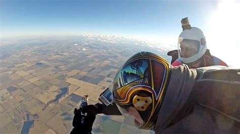 tattoo shannon edmonton skydiving artist tattooed friend as they fell from a plane