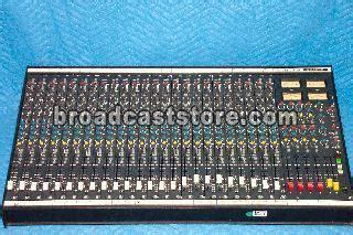 soundcraft 200bve audio mixer