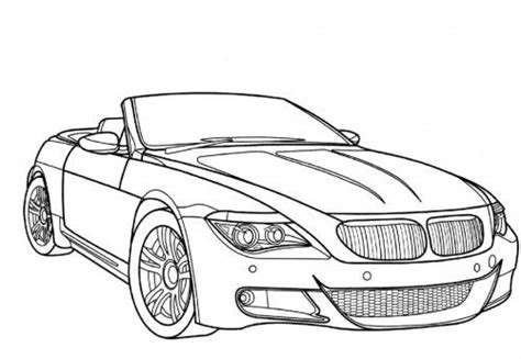 coloring pages of convertible cars bmw convertible car pictures to color printable coloring
