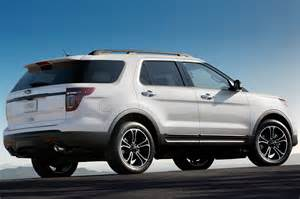 2014 ford explorer reviews and rating motor trend