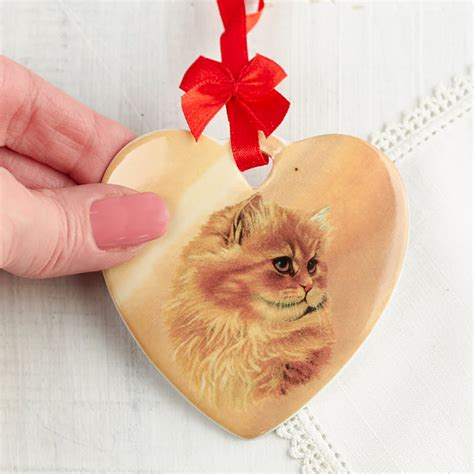 Cat Ceramic Ornament ceramic cat ornament what s new crafts