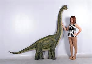 Decorative Sculptures For The Home Dinosaur Brachiosaurus Wall Decor Statue