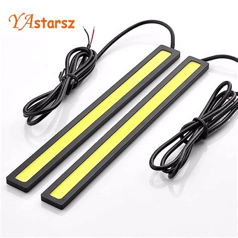 Drl Daytime Running Led 17cm ᗑ1pcs 17cm car styling styling cob led lights drl