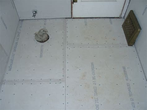 Installing Hardie Board Floor by Installing Ceramic Tile Hardibacker Board