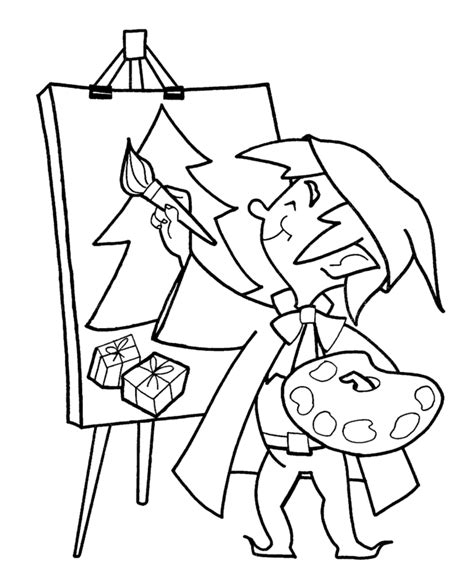 Pictures For Kids To Paint Coloring Home Paint Coloring Pages