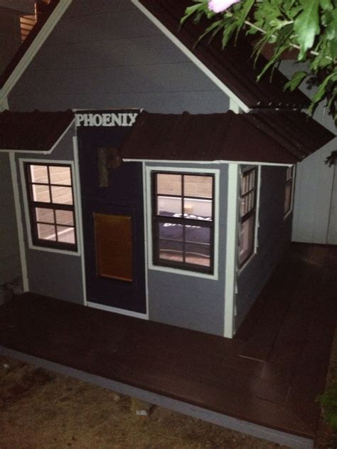 electric dog house the 25 best custom dog houses ideas on pinterest custom dog kennel craftsman dog