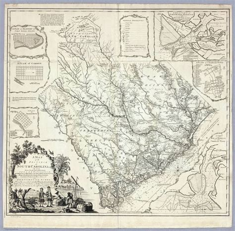 historical maps of carolina details about 1773 sc map edgefield edisto ehrhardt