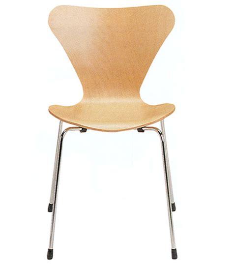stuhl arne jacobsen stuhl nr 3107 by arne jacobsen natur lackiert 80050 03