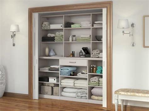 Linen Closet Designs by Linen Cabinets Closet Organizers By California Closets