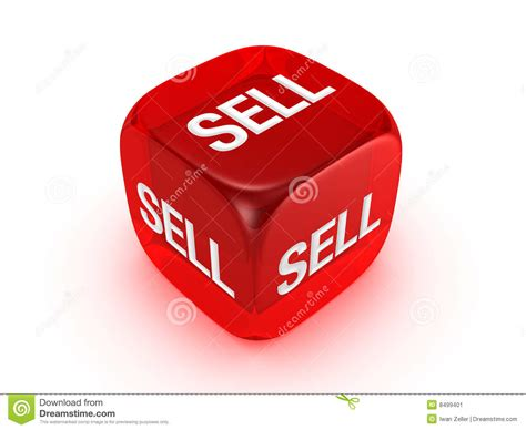buying and selling houses game translucent red dice with sell sign stock image image 8499401