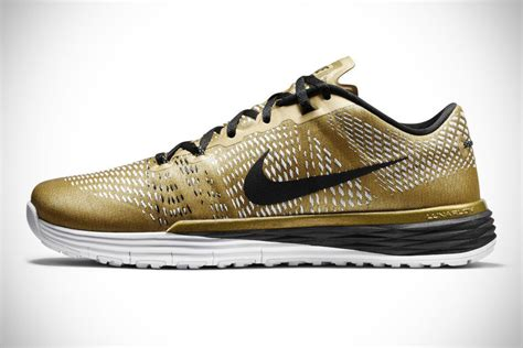 athletes world shoes nike releases limited edition gold lunar caldra to