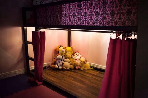 ikea kura curtain lights under bed ikea kura inspiration pinterest