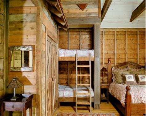 rustic chic 12 reclaimed wood bedroom decor ideas fishing club house traditional bedroom denver by