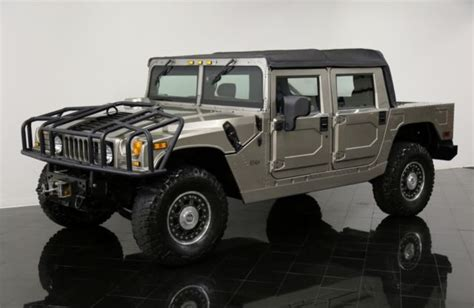 2006 hummer h1 alpha for sale 2006 hummer h1 alpha open top 1256 per month luxury