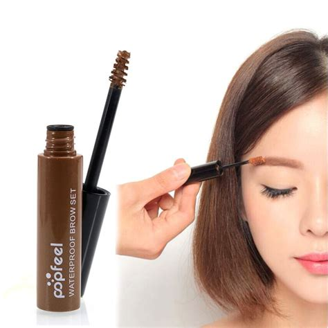 Promo New Xixiu Brow 4 Warna Mascara Alis Xi Xiu Color My Brows 4 colors waterproof eyebrow mascara eye brow shadow makeup set kit dye eyebrow gel