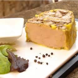 recette de terrine de foie gras de canard mi cuit foie