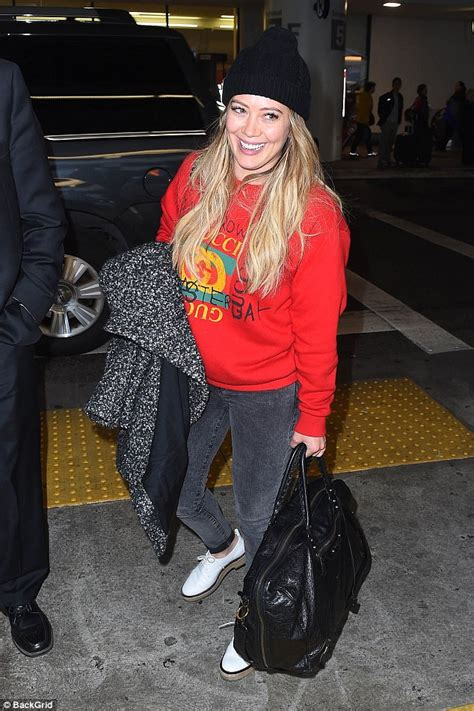 Posh Steps Out In A Sack by Hilary Duff Steps Out With Boyfriend Matthew Koma In Nyc