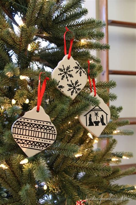 easy sharpie art christmas ornament finding home farms