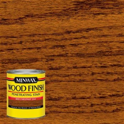 Home Depot Oak Kitchen Cabinets - minwax 1 qt wood finish red chestnut oil based interior stain 700464444 the home depot