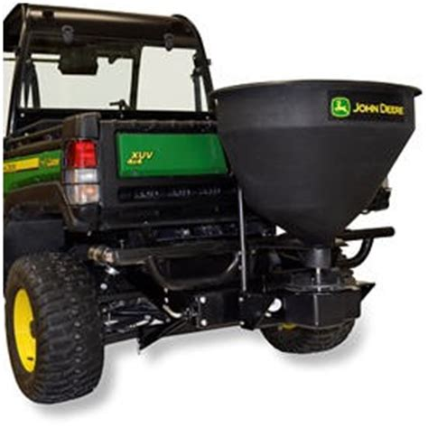 john deere 3 cu ft fertilizer spreader with hitch and