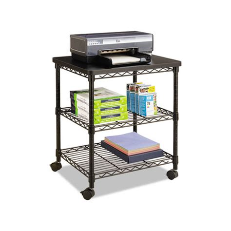 Desk Wire by Safco Desk Side Wire Machine Stand Saf5207bl Shoplet