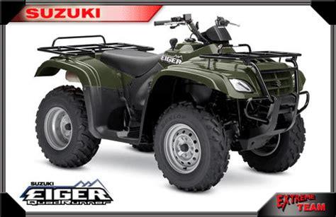 Suzuki Eiger 400 Capacity 2006 Suzuki Eiger Automatic 400 4x4 Reviews Prices And
