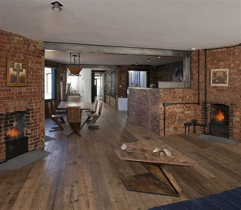 brick wall apartment exposed brick walls meet sustainable modern design in