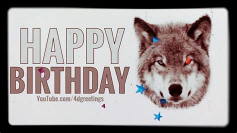 printable wolf birthday cards image gallery happy birthday wolf