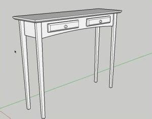 sketchup layout table google sketchup table meica bradshaw