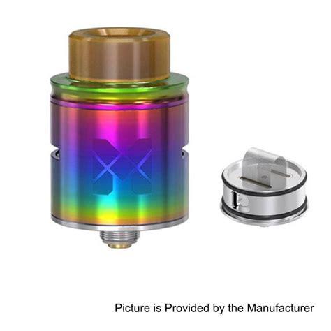Mesh 24 Rda Atomizer Silver Clone authentic vandy vape mesh rda rainbow ss 24mm bf