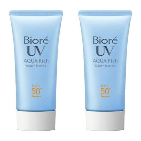 Biore Uv Water Essences Spf 50 Spf50 50ml 50 Ml biore sarasara uv aqua rich watery essence sunscreen spf50