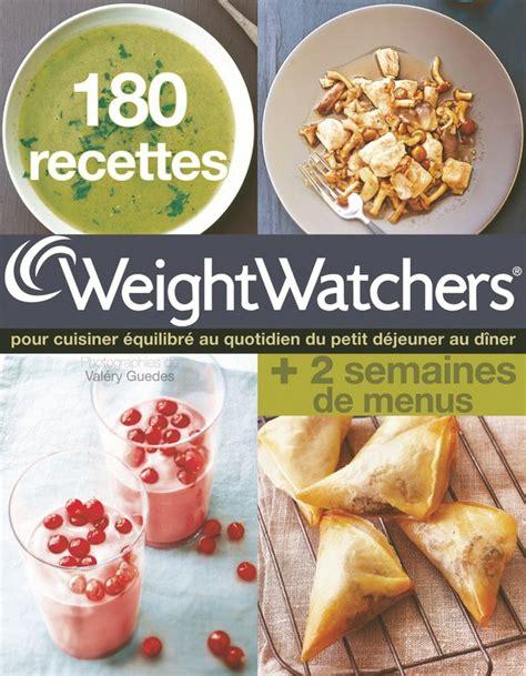 180 recettes weight watchers livre