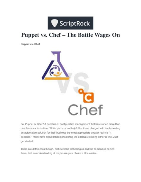 layout manager vs marionette puppet vs chef the battle wages on
