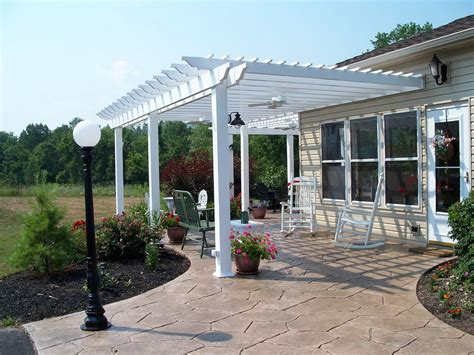 how to build a pergola on concrete how to build a pergola a concrete patio home design