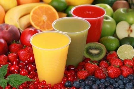 resep aneka minuman jus  smoothies sayur buah