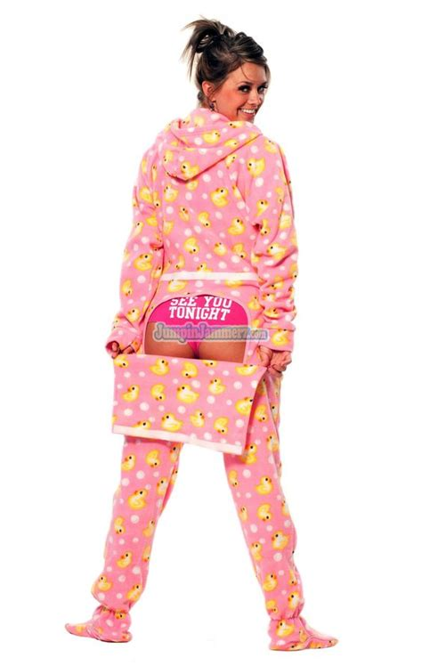 drop seat hoodie pajamas for adults the world s catalog of ideas