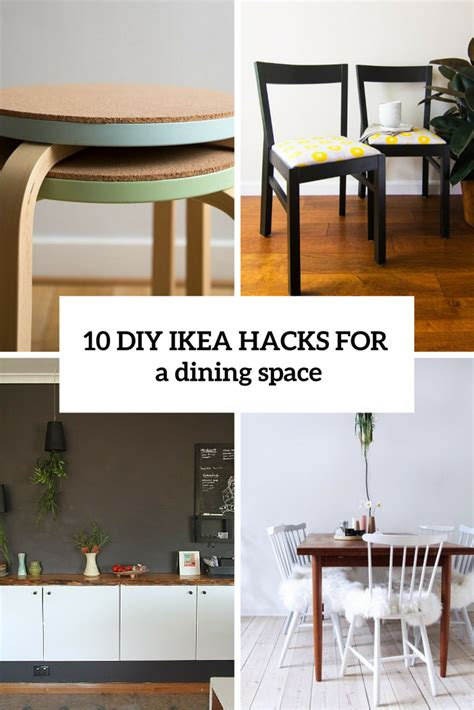 diy hack 10 adorable diy ikea hacks for a dining room or zone