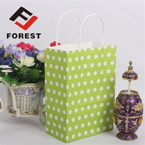 decorative paper bags craft custom goods colorful style decorative gift bags with