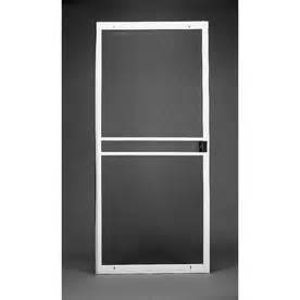 Lowes Patio Screen Door Ritescreen White Bronze Multi Fit Replacement Patio Screen At Lowes Screens Doors House