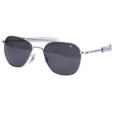 Sunglass Ao American Optical Skymaster Pilot Gold G Diskon american optical ao original pilot aviator sunglasses 55mm louisiana brigade