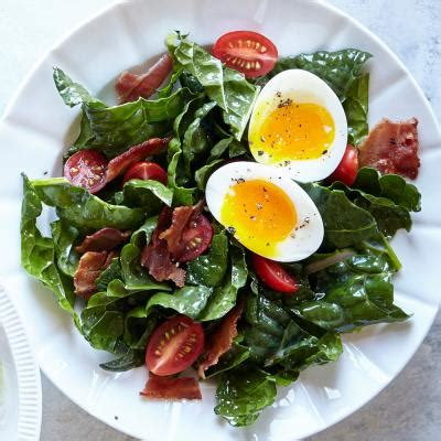 cooking light xmas breakfast bacon egg and kale breakfast salad banging breakfast salad recipes cooking light