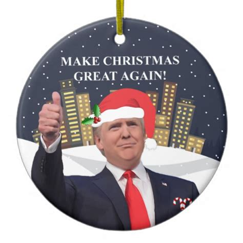 donald trump ornament donald trump christmas tree ornament zazzle