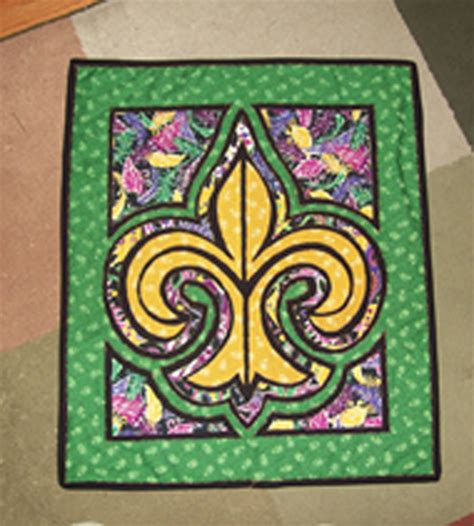 Fleur De Lis Quilt Pattern by Another By Mardi Gras Fleur De Lis