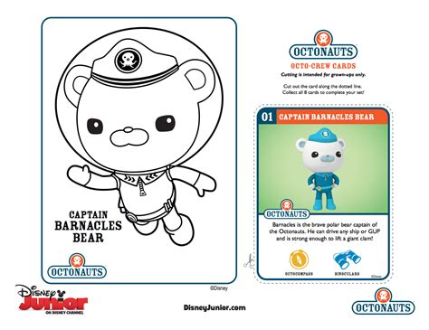 Gup X Coloring Page by Octonauts Tweak Coloring Pages Www Imgkid The